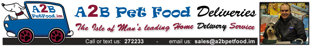 A2B Pet Food Deliveries Isle of Man